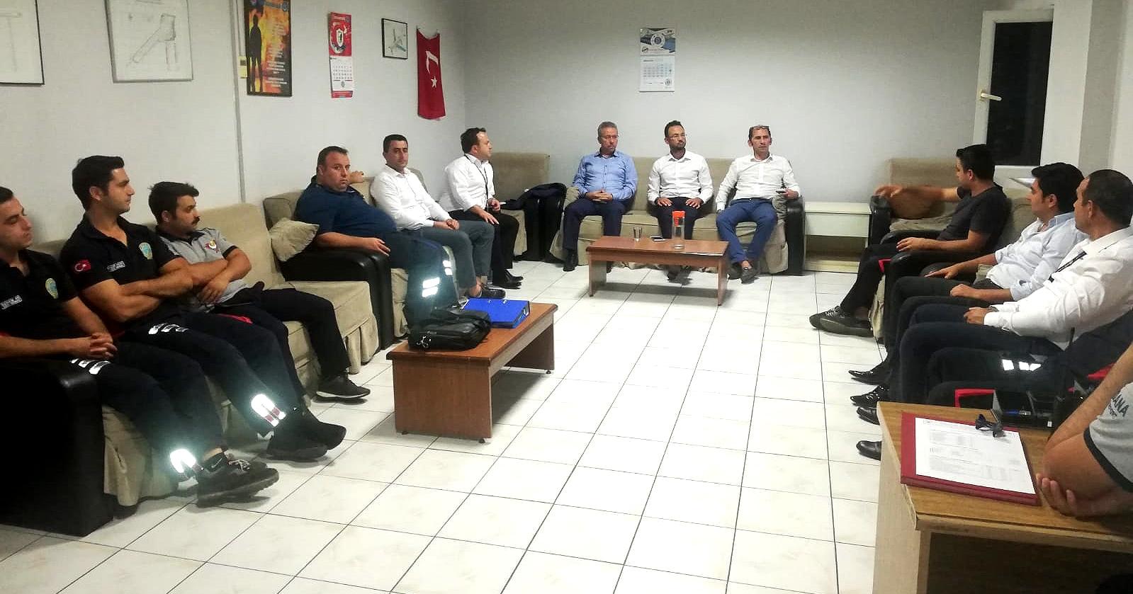 Genel Başkan Yardımcısı Murat Olgun, Adana, Hatay ve Kahramanmaraş Havalimanlarında çalışanlarla buluştu
