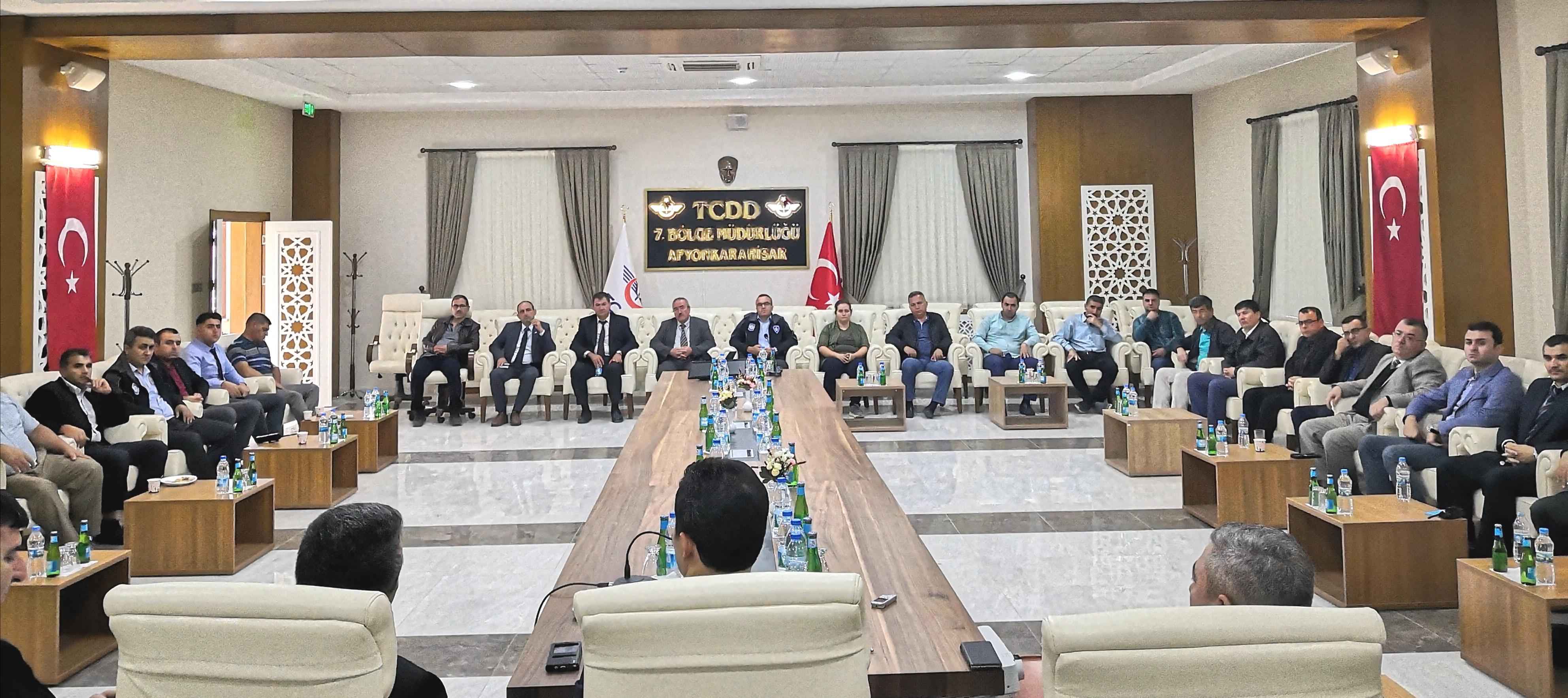 Afyonkarahisar ve Eskişehir Bölgesel Teşkilat Toplantısı yapıldı