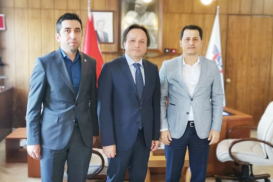 Genel Başkan Çalışkan, TCDD Genel Müdürü Uygun'u ziyaret etti