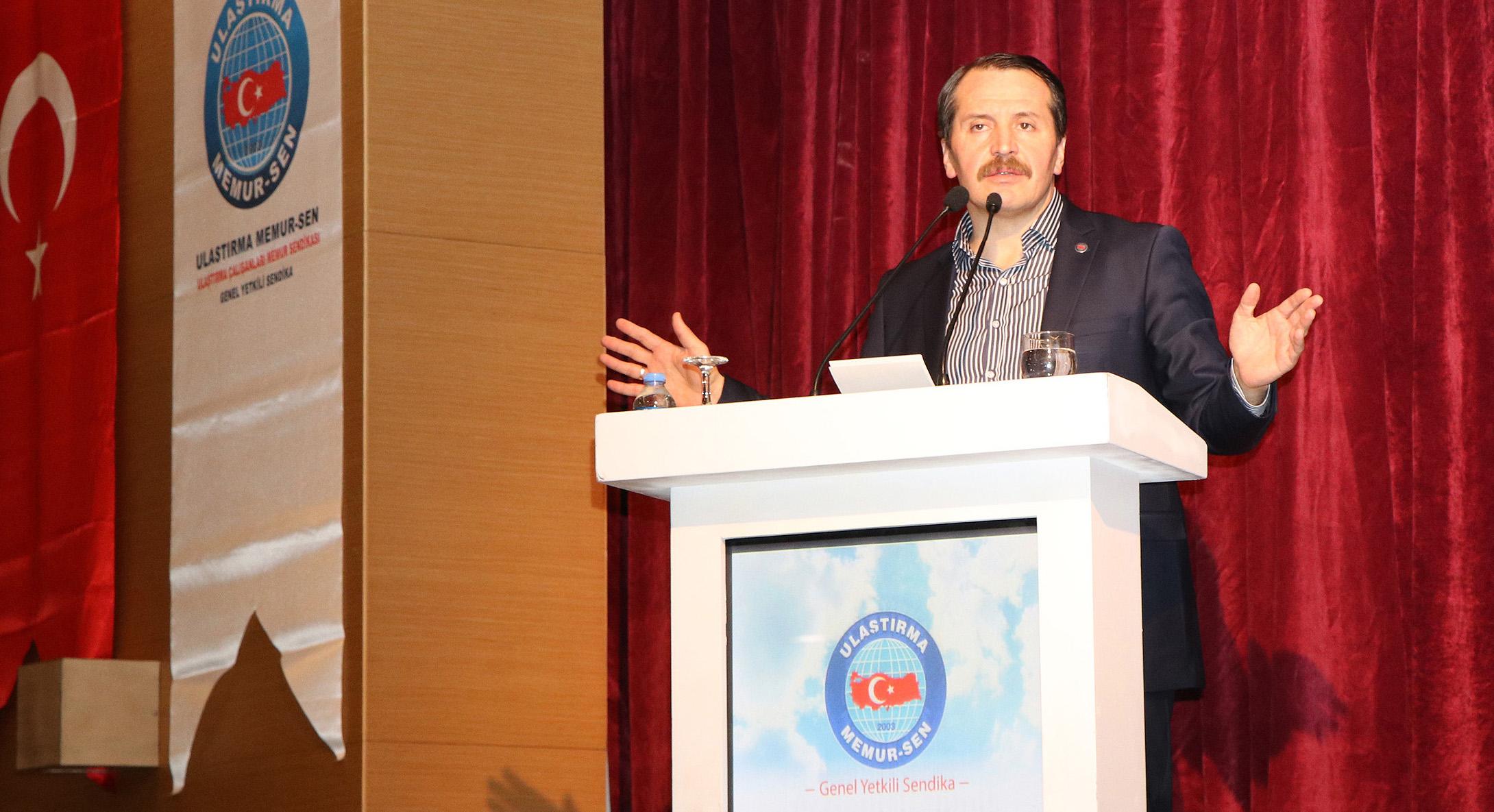 Ali Yalçın; Ulaştırma Memur-Sen, Ulaştırma hizmet kolunda kazanımların adresidir