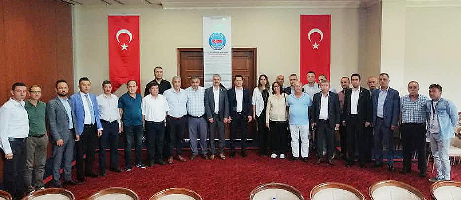 Antalya Bölgesel Teşkilat toplantısı yapıldı