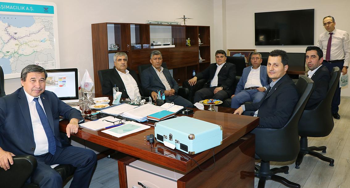 Genel Başkan Çalışkan, Erol Arıkan'ı ziyaret etti