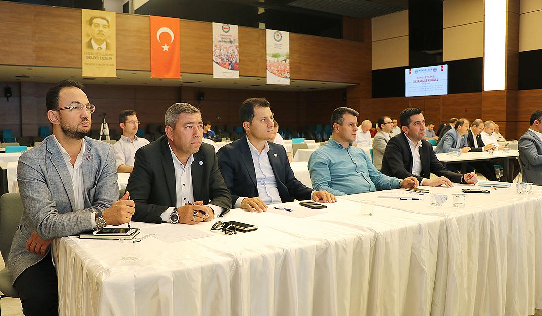 Çalışkan, Genişletilmiş Başkanlar Kurulu Toplantısına katıldı