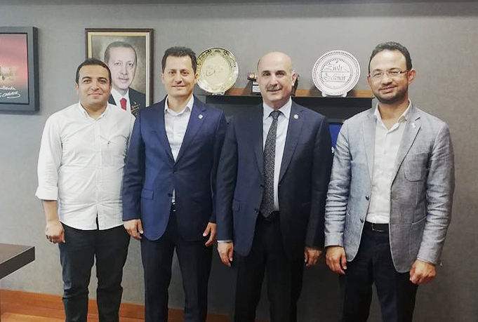 Çalışkan'dan Batman Milletvekili Özdemir'e ziyaret