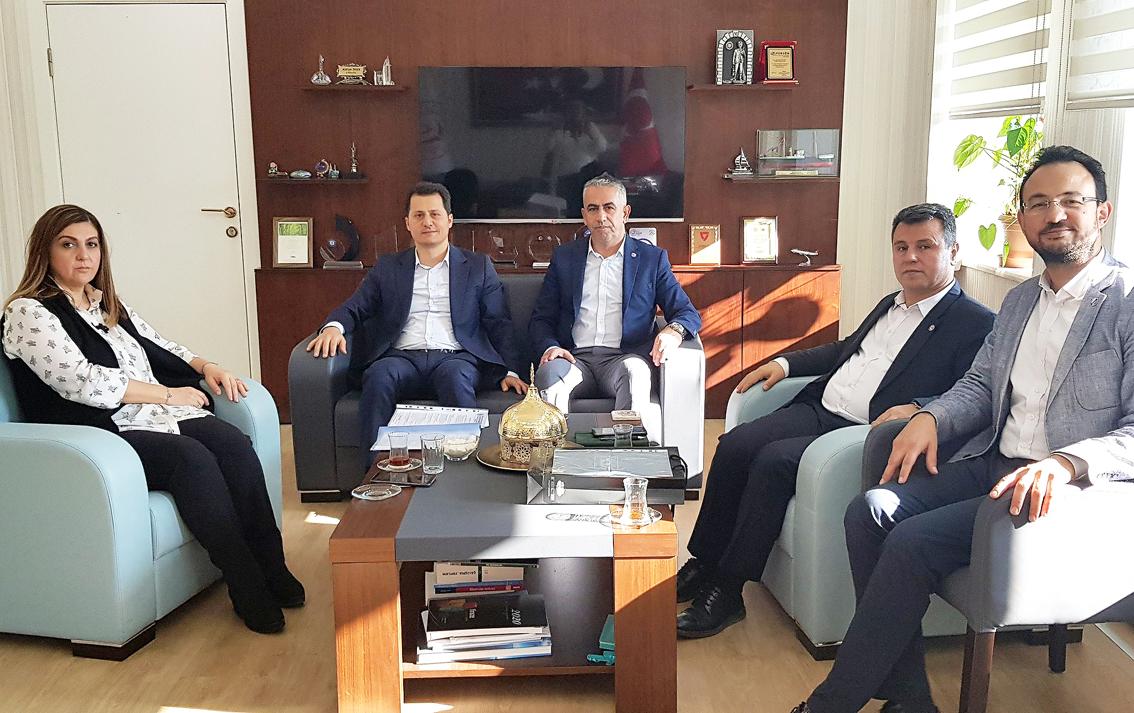 Genel Başkan Kenan Çalışkan, Çalışma Genel Müdürü Nurcan Önder'i ziyaret ederek talepleri iletti