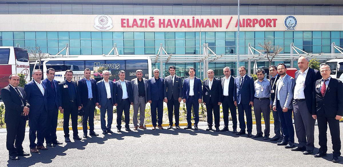 Genel Başkan Çalışkan, Adıyaman, Malatya ve Elazığ'da İşyeri Ziyaretlerinde Bulundu