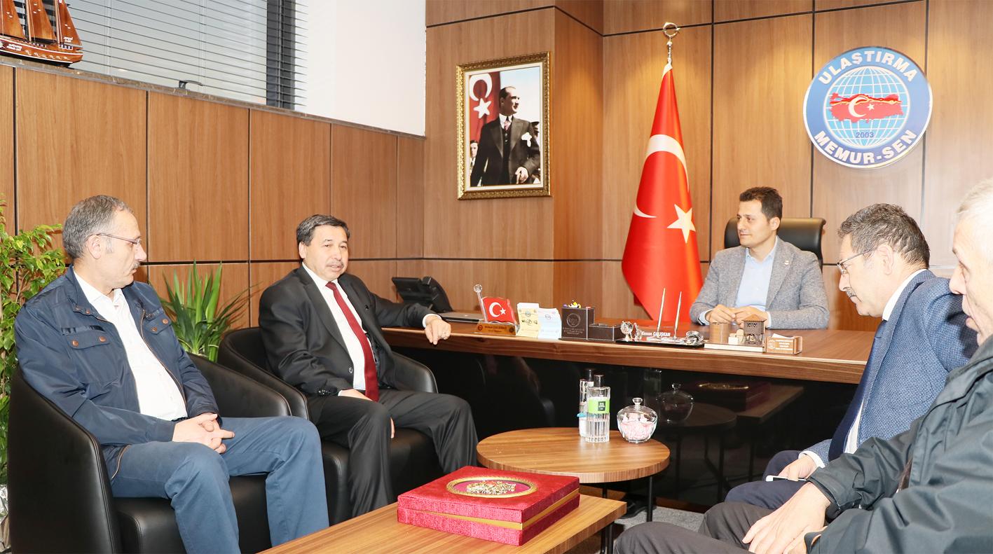 Genel Müdür Arıkan'dan Genel Başkan Çalışkan'a Tebrik Ziyareti