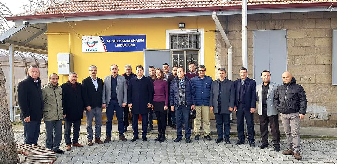 Genel Başkan Çalışkan, Isparta, Burdur ve Muğla'da işyerlerini ziyaret etti