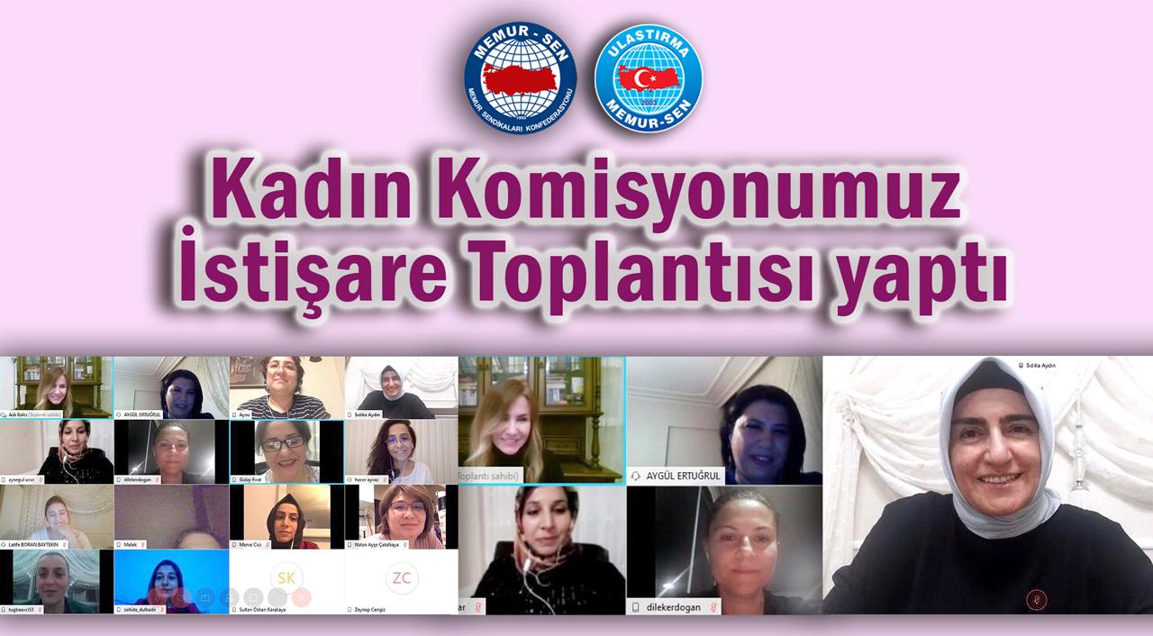 Kadın Komisyonumuz İstişare Toplantısı yaptı