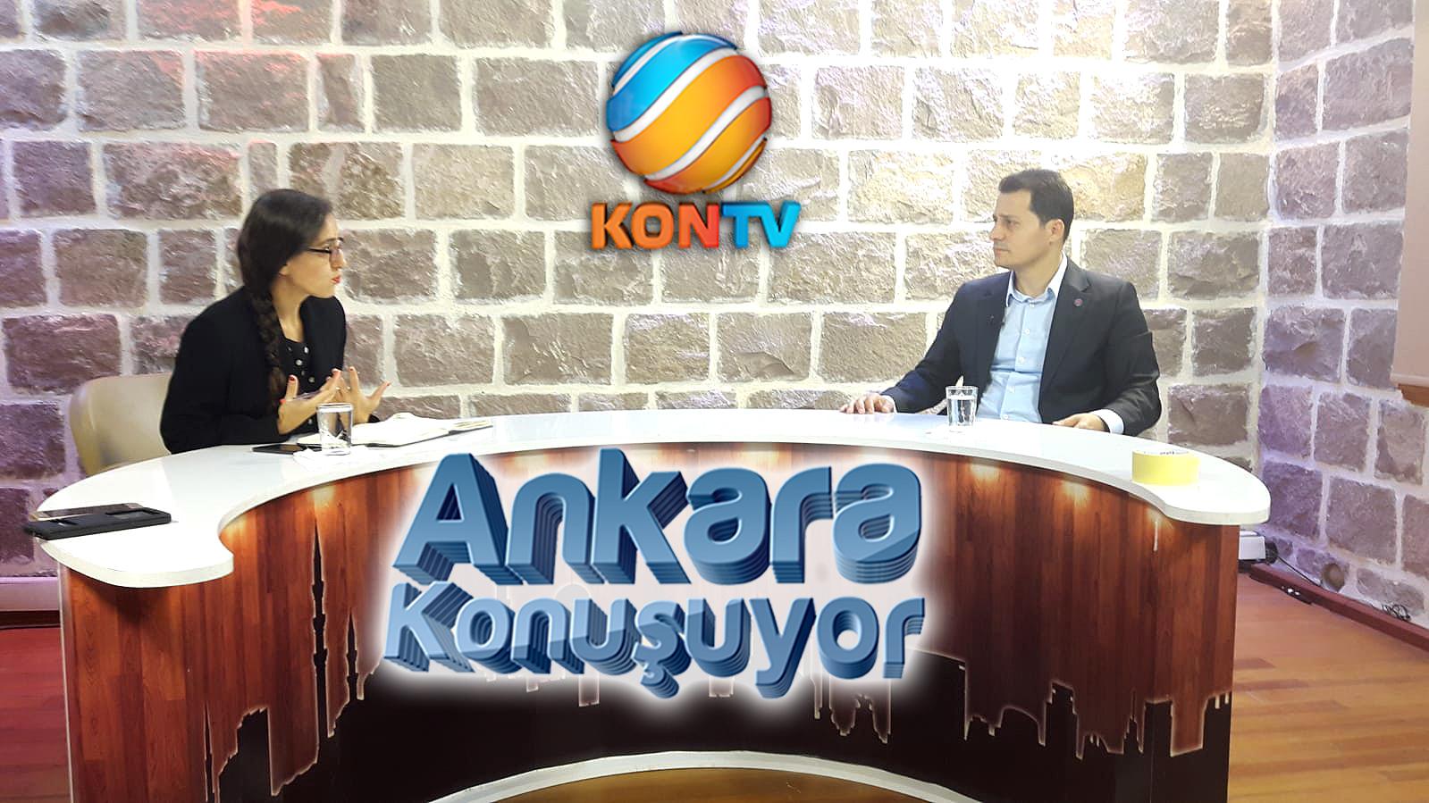 Genel Başkan Çalışkan KONTV'den açıklamalarda bulundu