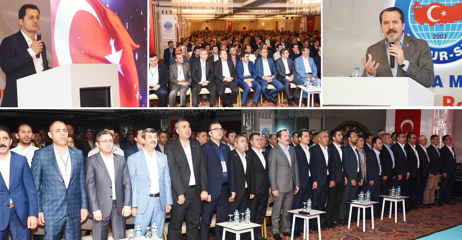 Ulaştırma Memur-Sen 11. Genişletilmiş Başkanlar Kurulu toplantısı Antalya'da yapıldı
