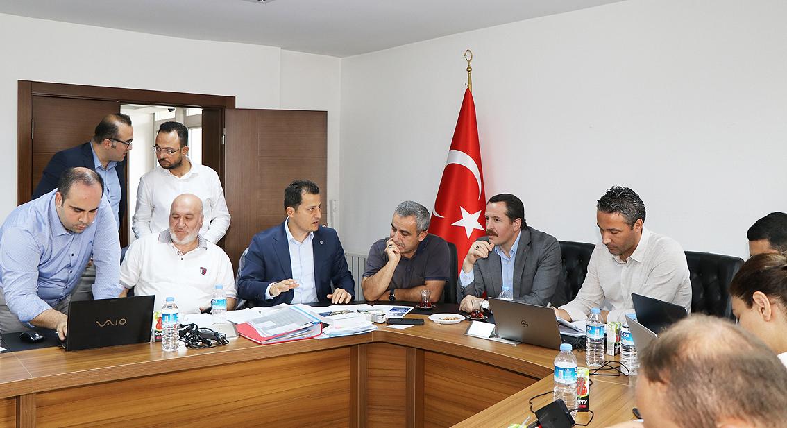 Ulaştırma hizmet kolu talepleri komisyon toplantısında görüşüldü