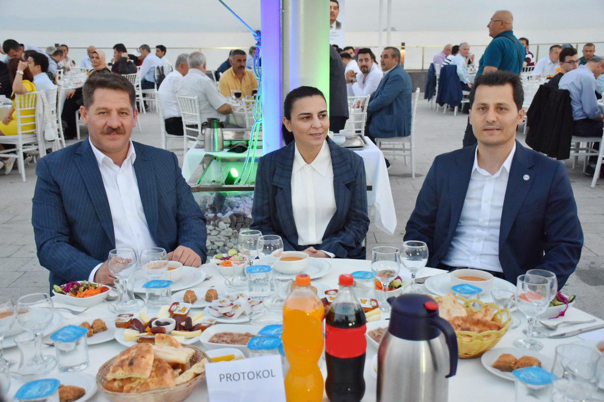 Çalışkan, İstanbul 1 No'lu Şubenin iftar programına katıldı