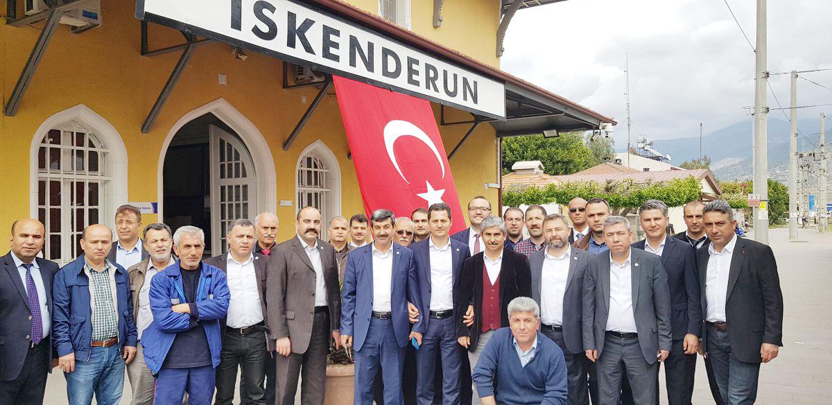 Genel Merkez Yönetiminden, Akdeniz ve Güneydoğu Anadolu'ya Çalışma Ziyaretleri