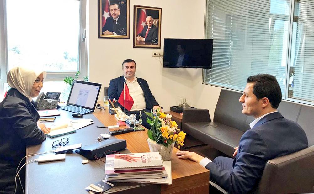 Genel Başkan Çalışkan, Malatya Milletvekili Öznur Çalık'ı TBMM'de Ziyaret Etti