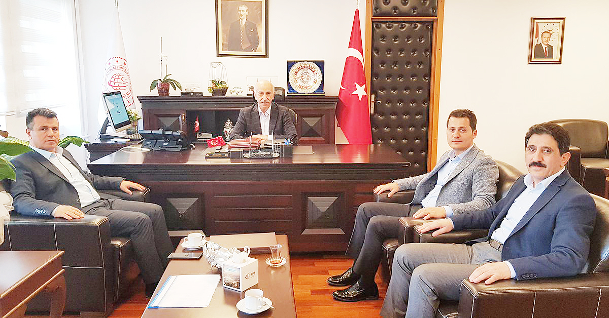 Genel Başkan Çalışkan'dan Bakan Yardımcısı Dursun'a Ziyaret