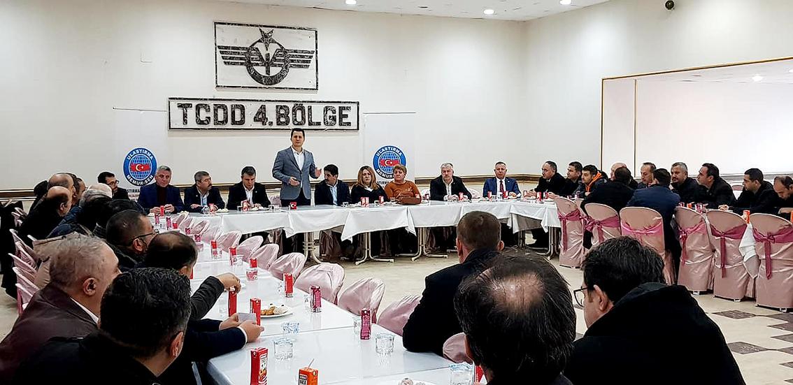 Genel Başkan Çalışkan Sivas'ta ziyaret ve çalışmalarda bulundu