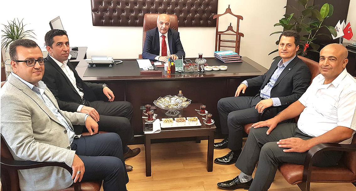 Genel Başkan Kenan Çalışkan'dan Mehmet Aksoy'a Tebrik ziyareti