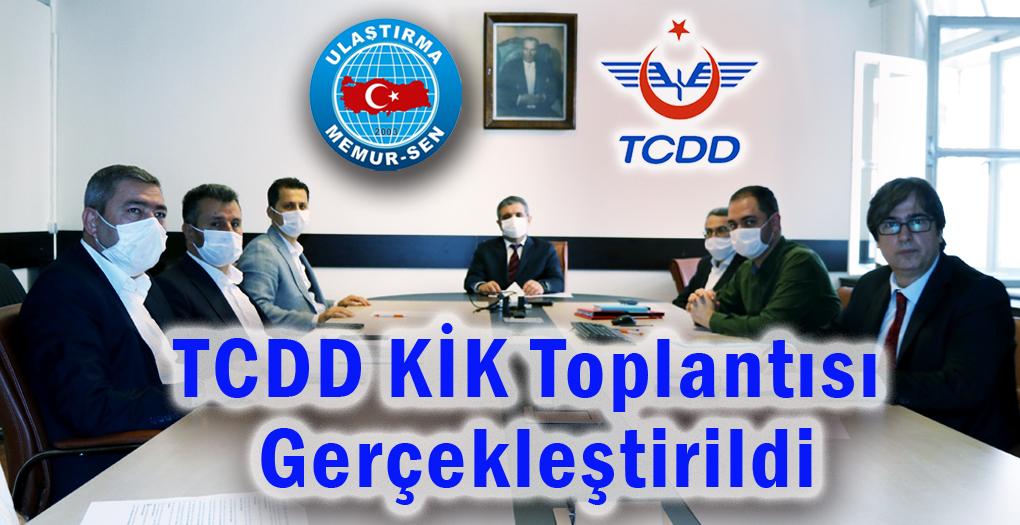 TCDD 2020/1 KİK Toplantısı gerçekleştirildi