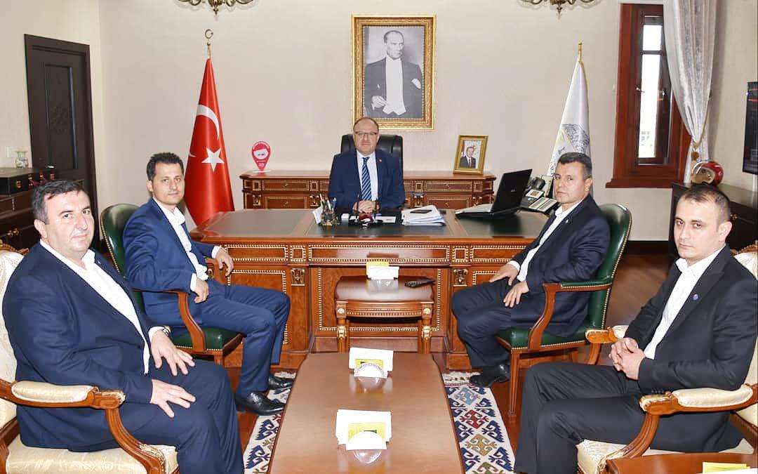 Genel Başkan Çalışkan Afyonkarahisar'da