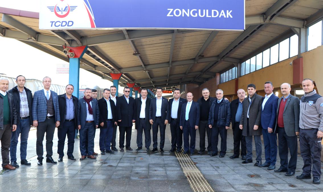 Genel Başkan Çalışkan Zonguldak'ta İşyeri Ziyaretleri Yaptı