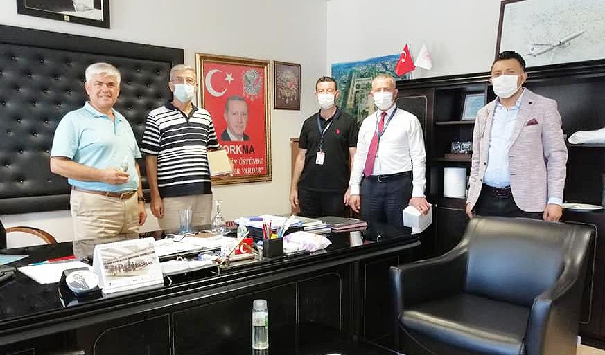 Antalya Şubemiz 650 Personele kolonya hediye etti