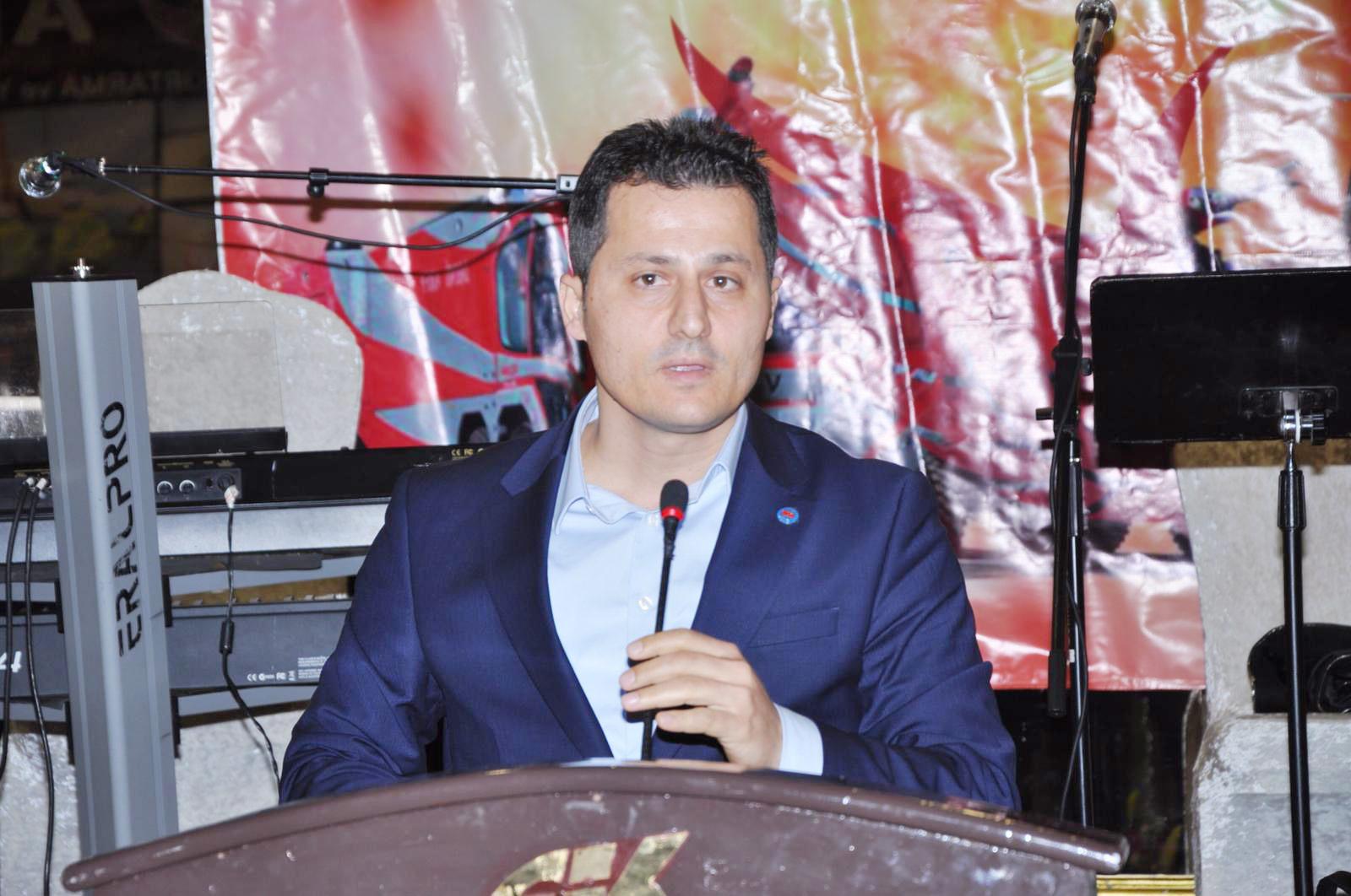 Çalışkan, Türkiye ARFF Memurları Gecesine Katıldı