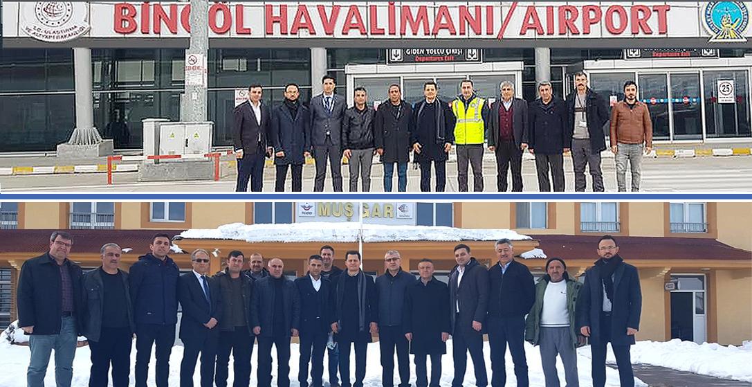 Genel Başkan Çalışkan, Bingöl ve Muş'ta ziyaretlerde bulundu