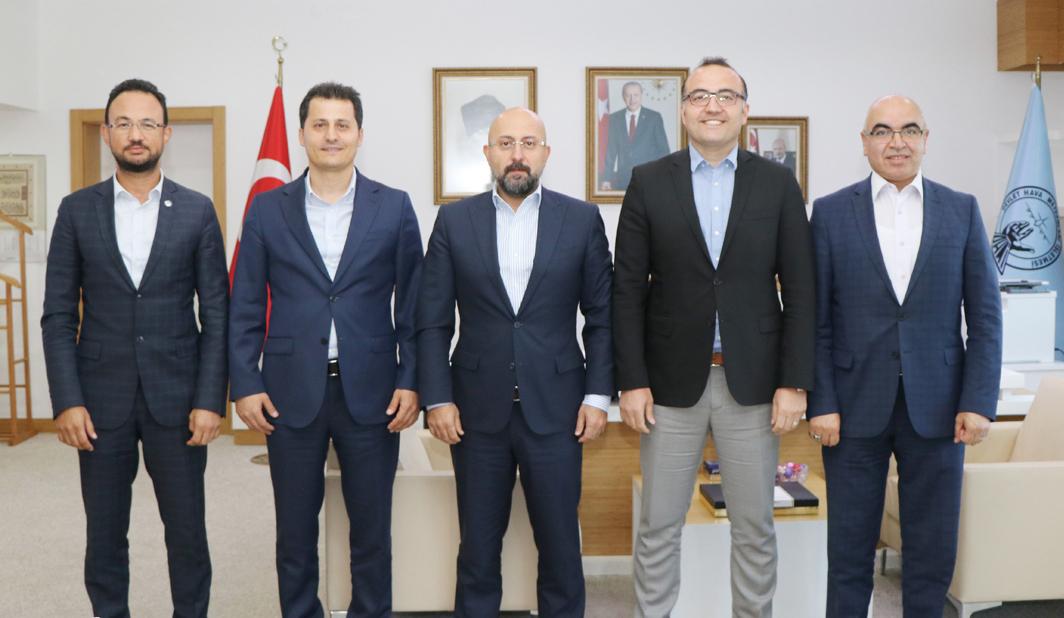 Genel Başkan Çalışkan'dan, DHMİ Genel Müdürü Keskin'e Hayırlı Olsun Ziyareti