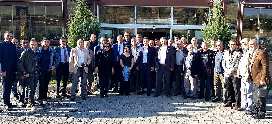 Erzurum Bölgesel Teşkilat toplantısı yapıldı