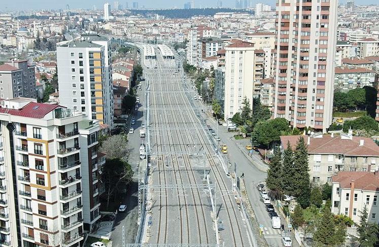 Gebze-Halkalı Demiryolu Hattı Bugün Törenle Hizmete Açılıyor