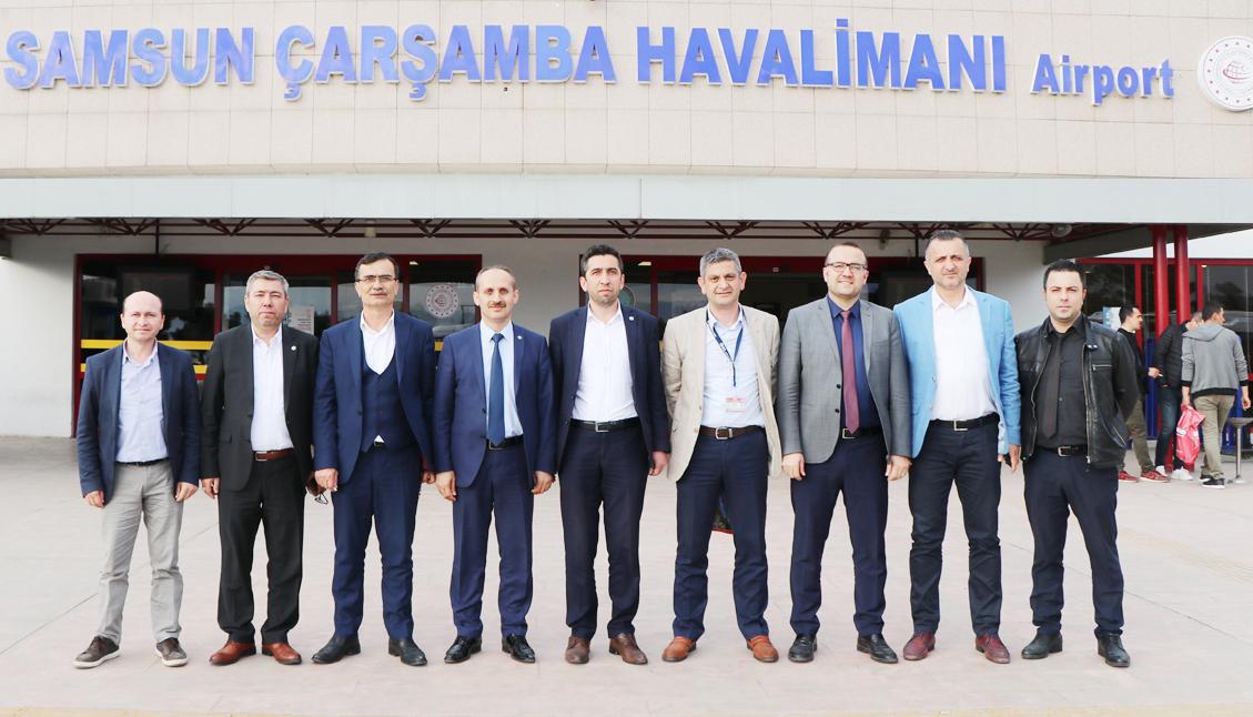 Genel Merkez'den Amasya, Sinop, Samsun ve Trabzon Ziyaretleri