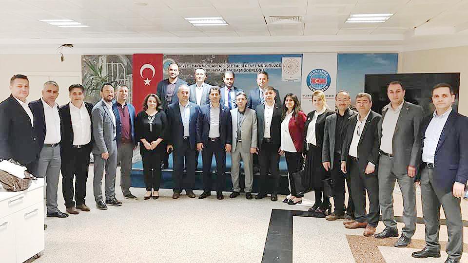Genel Merkez ziyaretleri bu kez İstanbul'daydı