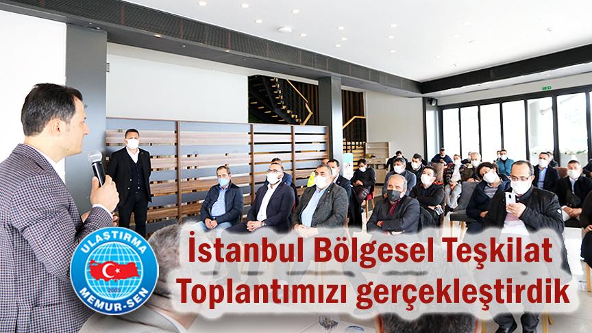 İstanbul Bölgesel teşkilat toplantımızı gerçekleştirdik