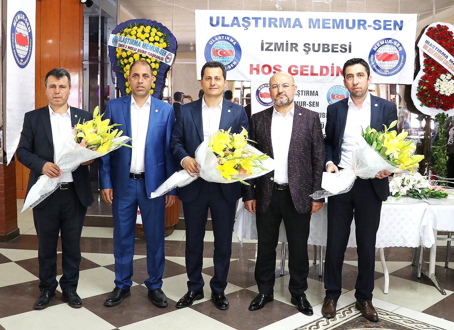 İzmir 1 No'lu Şube'de görev değişimi
