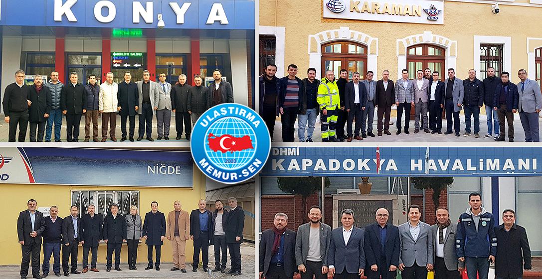 Genel Başkan Çalışkan, Konya, Karaman, Niğde ve Nevşehir'de ziyaretlerde bulundu