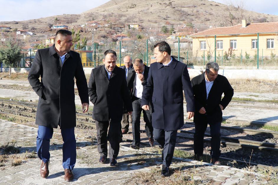 Genel Başkan Çalışkan, Kırıkkale ve Yerköy'de ziyaretlerde bulundu