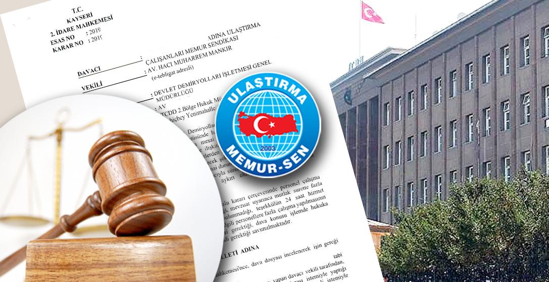 Zorunlu fazla mesaiye mahkemeden iptal kararı