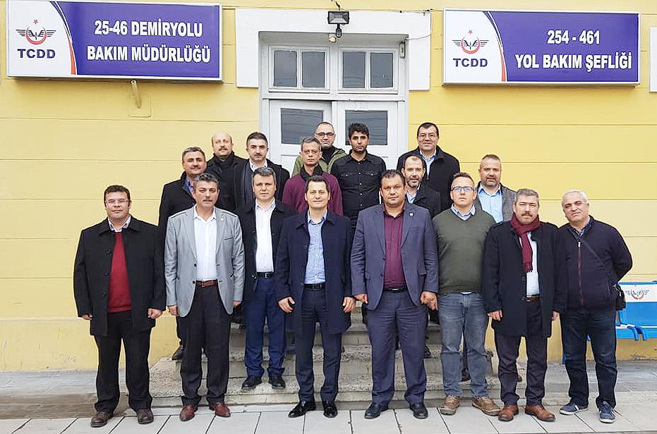 Genel Başkan Çalışkan, Kayseri'de ziyaretlerde bulundu