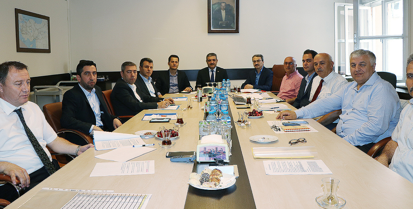 TCDD KİK Toplantısı gerçekleştirildi