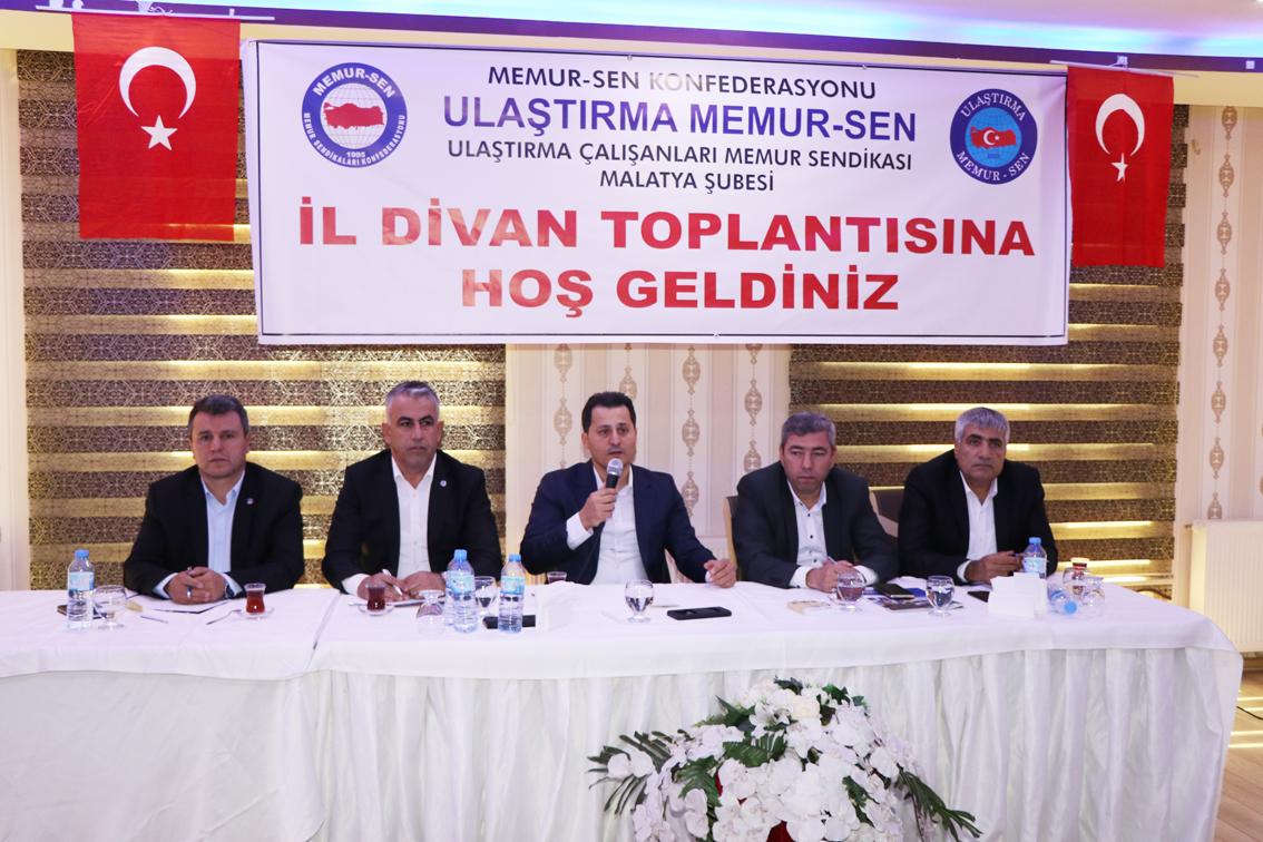 Malatya Bölgesel Teşkilat Toplantısı geniş bir katılımla yapıldı