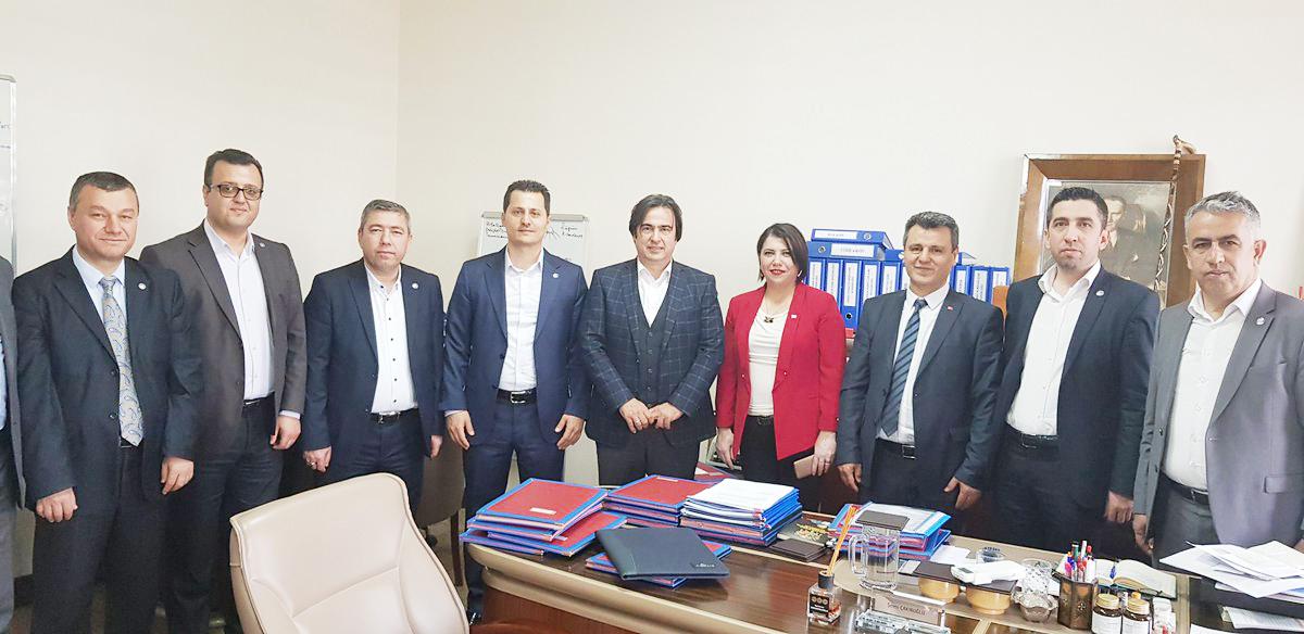 Çalışkan'dan Ankara'daki Kurumlara Çalışma Ziyaretleri