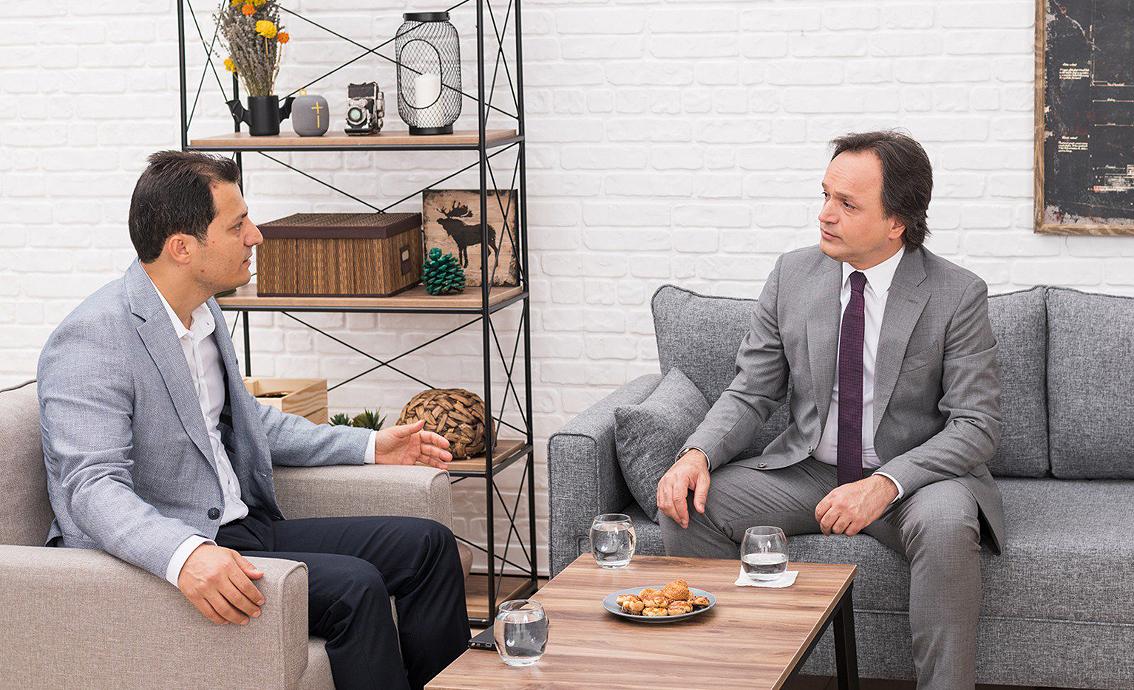 Genel Başkan Çalışkan, TCDD Genel Müdürü Uygun ile görüştü