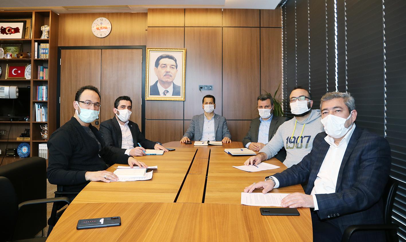 Yönetim Kurulumuz Haftalık olağan toplantısını yaptı