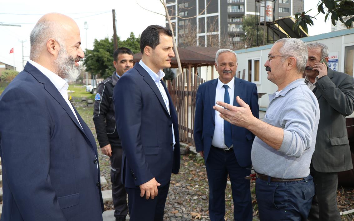 Genel Başkan Kenan Çalışkan, Mersin, Adana, Osmaniye, Hatay, Kahramanmaraş ve Gaziantep'te ziyaretlerde bulundu